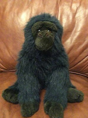"Ty Gorilla Vintage 1989 Approx 13"" George Rare Beanie Plush"