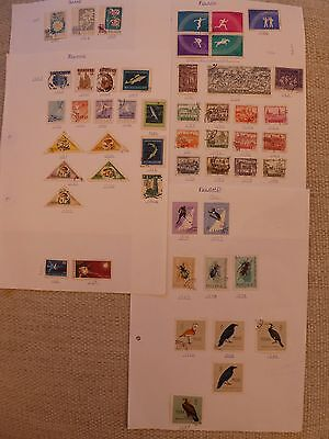 Poland collection of 149 stamps