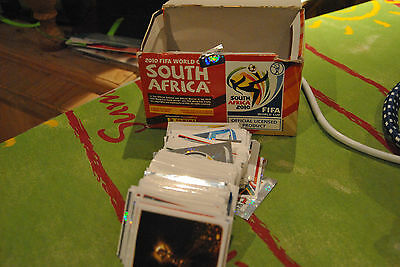 panini World cup 2010 South Africa - choose 10 stickers between 400