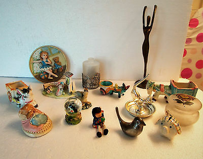 Mixed Job Lot Of Curios , Collectables And Bric A Brac