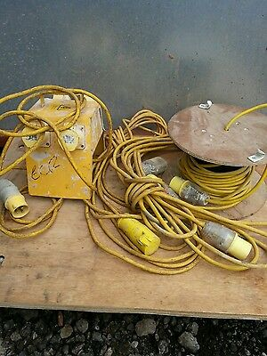 110v extension leads and junction box job lot