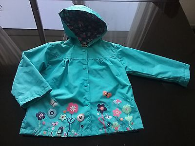 Adorable imperméable fille 4 ans Neuf