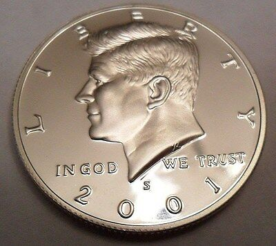 2001 S Kennedy Half Dollar  *90% Silver Proof*  **free Shipping**