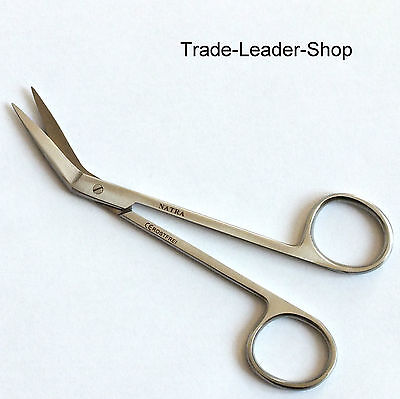 Iris Scissors angled surgical Dental surgery Gum shears 12 cm NATRA