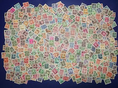 China Republic- 850 Surchaged Stamps - uncheckt - All Mint!