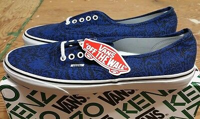 15351e40e8 Vans X Kenzo Authentic True Blue Moths Size 12 supreme wtaps syndicate  sophnet