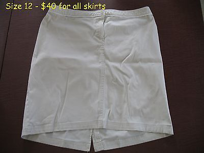 Lot of Maternity skirts (mostly large)
