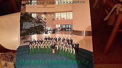'Some of our favourites' the Irish choral society vinyl lp