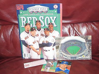 Boston Red Sox 1999 Official Yearbook