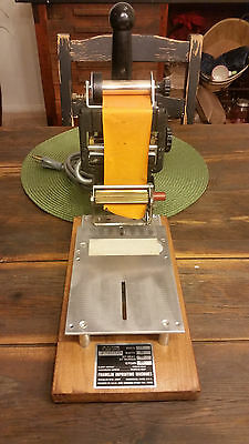 Franklin Imprinting Machine Hot Foil Stamping Signet Embosser Press Gold Leaf