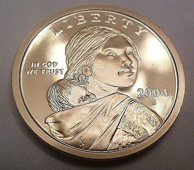 2004 S Sacagawea *proof* Dollar Coin  **free Shipping**
