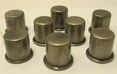Set of 8 Metal Oil Caps for Master Oil Spouts