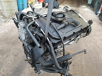Vw Passat 2.0 Diesel Tdi 2006-2009 Bkp Engine Bare, Mileage 93K,