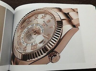 Auth Rolex World 232 Page Chinese Catalog Lookbook Rare!