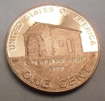 2009 S Lincoln Birthplace Cabin  *proof* Cent / Penny  **free Shipping**