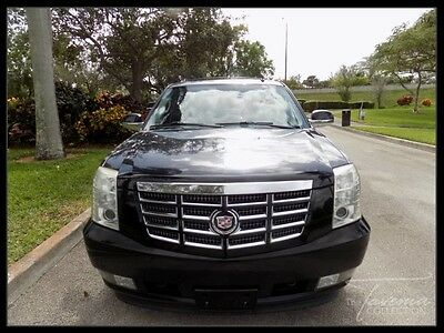 2008 Cadillac Escalade  08 ESCALADE CLEAN 1 OWNER CARFAX HEATED AND COOLED SEATS THIRD ROW SEATS FL