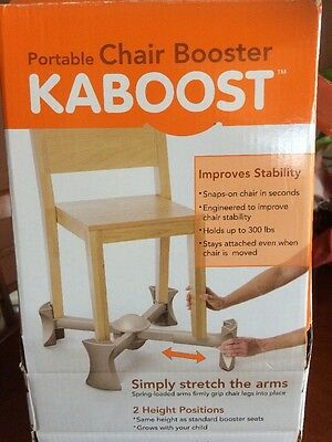 Kaboost Portable Chair Booster - Natural (N594)