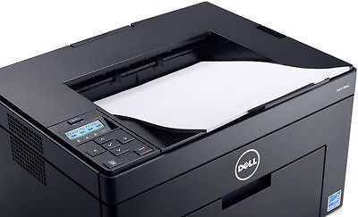 brand new dell c1760nw color led laser workgroup wireless printer