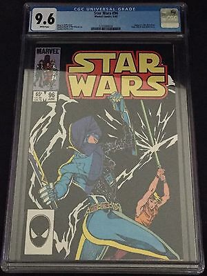 Star Wars (1977) # 96 White Pages Graded Cgc 9.6 Nm+ (1216589016) Looks 9.8