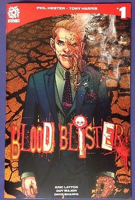 BLOOD BLISTER 1 January 2017 9.2-9.4 NM-/NM AFTERSHOCK COMICS TONY HARRIS COVER!