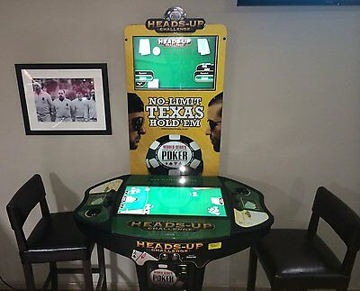 Heads Up Texas Hold'em Poker Machine Coin Operated