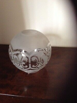 Victorian Oil Lamp shade
