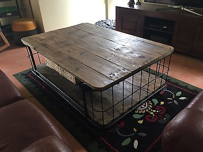 Large Industrial Coffee Or Outdoor Table