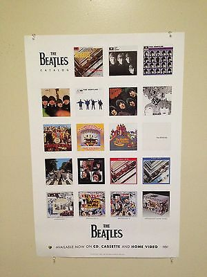 "The Beatles  -  2 Sided ""anthology"" Promo Poster -  1996 - New"