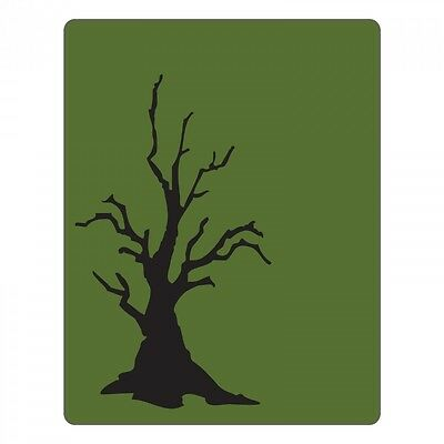 Sizzix Texture Fades Embossing Folder - Branch Tree    661406