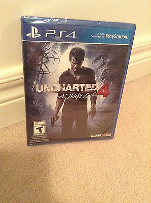 Uncharted 4 A Thief's end (playstation 4 PS4) BranD NeW SeaLeD