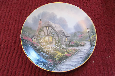 Thomas Kinkade Garden Cottages of England Chandler's Cottage Plate 1991