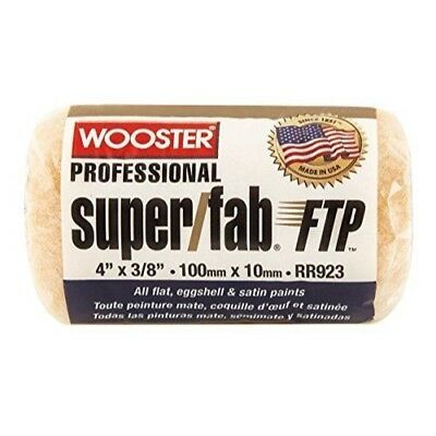 The Wooster Brush Company RR924-4 Super Fab FTP Roller Cover 1/2-Inch Nap