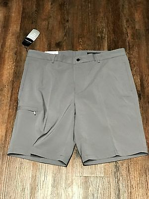 New With Tags Men's Greg Norman Golf Shorts Grey, Size 38