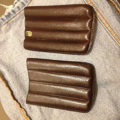 Alfred Dunhill ~ 4 cigar holder ~ carry case
