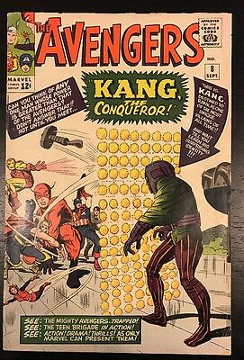 The Avengers #8 1st Appearance Of Kang (Possible Future Cinematic Villain)
