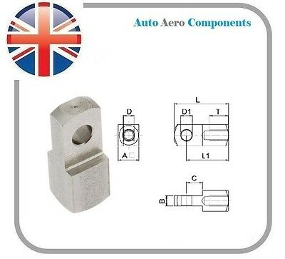 Clevis EYE - Steel BZP Various Sizes Available