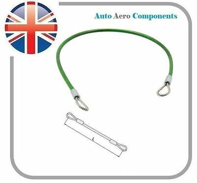 Stainless Steel 303/304 Wire Lanyard with End Loop - Nylon Coated