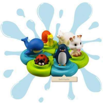 Sophie The Giraffe Gift Boxed Bath Puzzle RRP $41.50 our price $38.50 + Freepost