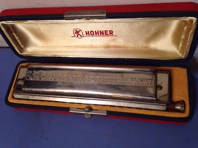 Vintage Hohner The 64 Chromonica Harmonica Nr. 280 Professional