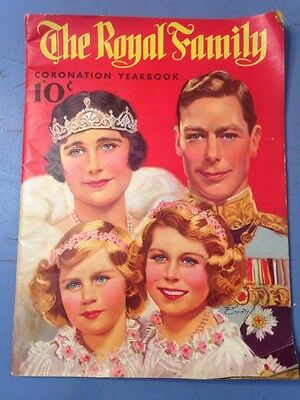 Rare 1937 The Royal Family Coronation Yearbook King George Vi