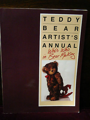 Teddy Bear Artist's Annual - Who's Who in Bear Making