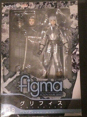 Max Factory Figma 138 Berserk Griffith anime & manga figure