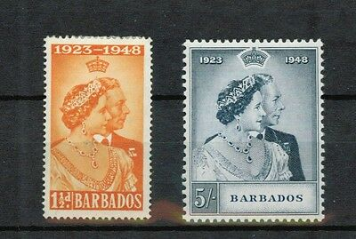 Barbados Scott 210-211 Mint Hinged