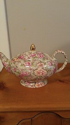 Beautiful James Sadler Teapot Tea Pot Florence Chintz