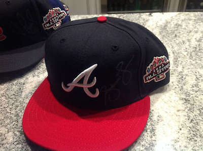 Andruw Jones Autographed 2003 All-Star Game Braves Hat