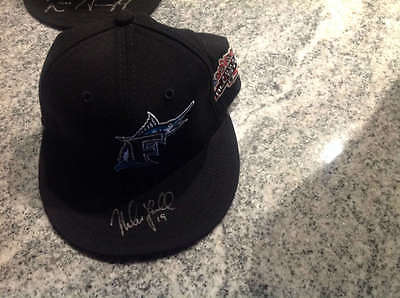 Mike Lowell Autographed 2003 All-Star Game Marlins Hat