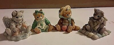 Limited Edition - Calico Kittens Set of 4 figurines