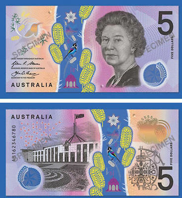 Trio/ 3x NEW 2016 $5 Polymer Banknotes Steven/Fraser GEM UNC-CONSECUTIVE NUMBERS