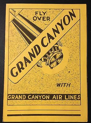 Grand Canyon Airlines - South Rim Airport Leaflet - Arizona