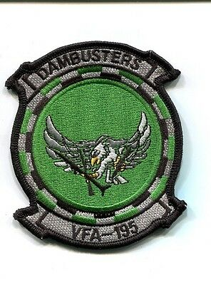 VFA-195 DAMBUSTERS US NAVY BOEING F-18 HORNET Fighter Squadron Jacket Patch